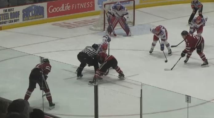 Ontario Hockey League games put on pause.