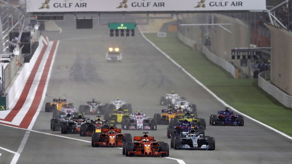 Bahrain Formula One Grand Prix in 2018