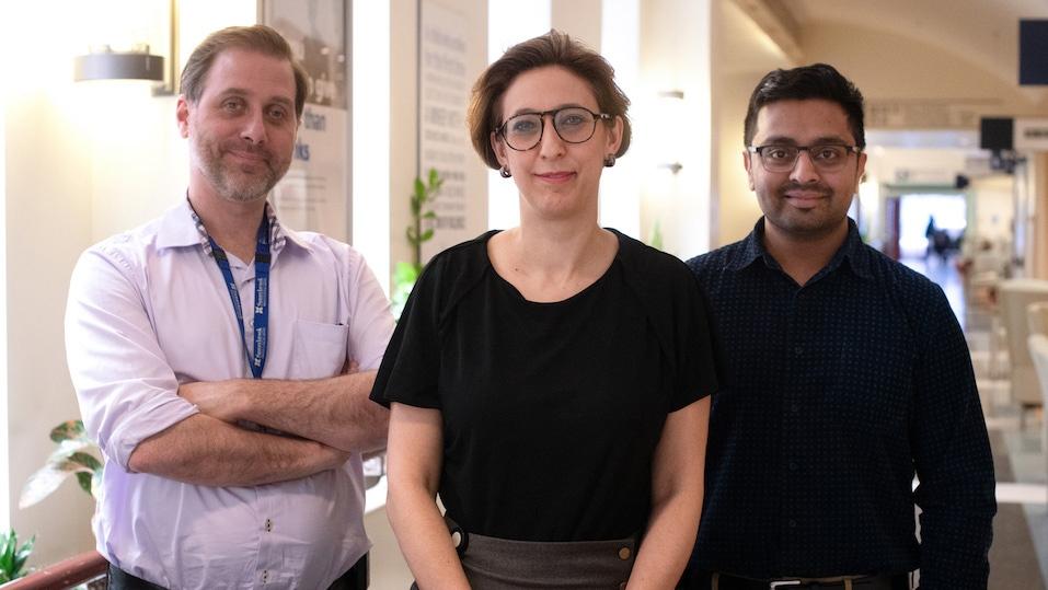 Dr. Robert Kozak, Dr. Samira Mubareka, Dr. Arinjay