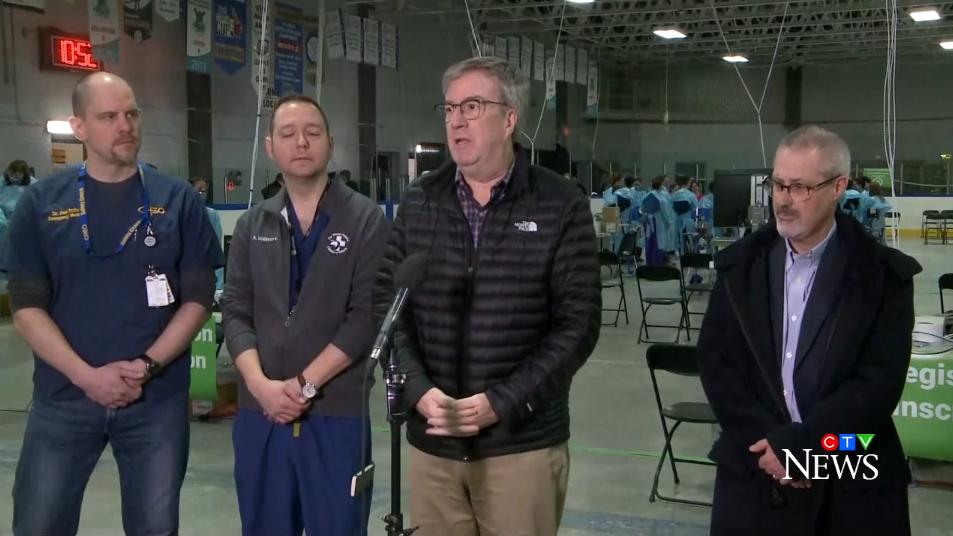 Officials open Ottawa's new COVID-19