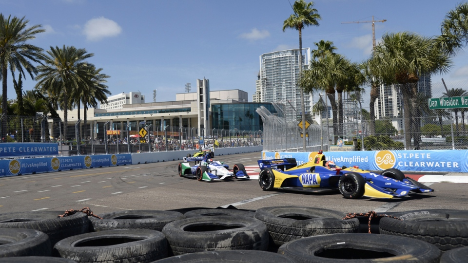 The IndyCar Firestone Grand Prix in 2018