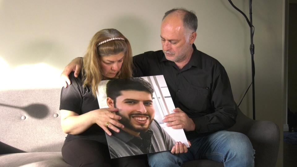 Leila Latifi and her husband