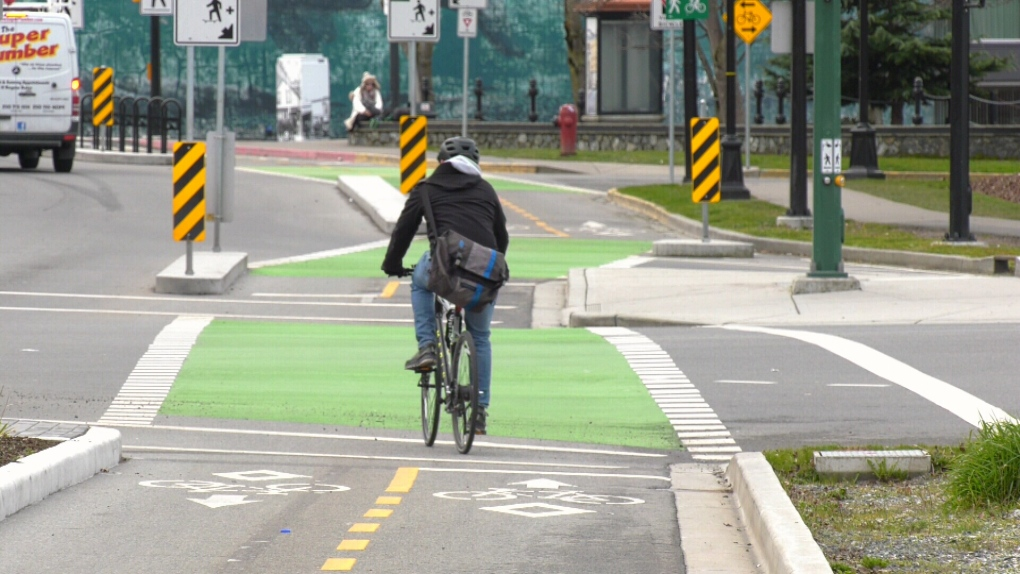 cycling bike lane