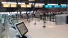 Quiet start to March Break at the Ottawa International Airport (Peter Szperling/CTV News Ottawa)