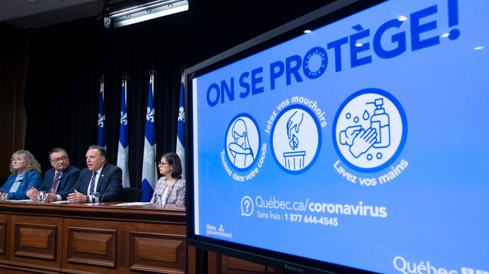 Covid 19 Legault Declares A Public Health Emergency Ctv News