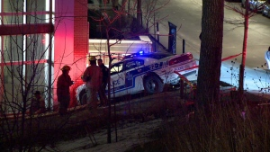 Montreal police are investigating after a fight got out of control in a motel in downtown Montreal.