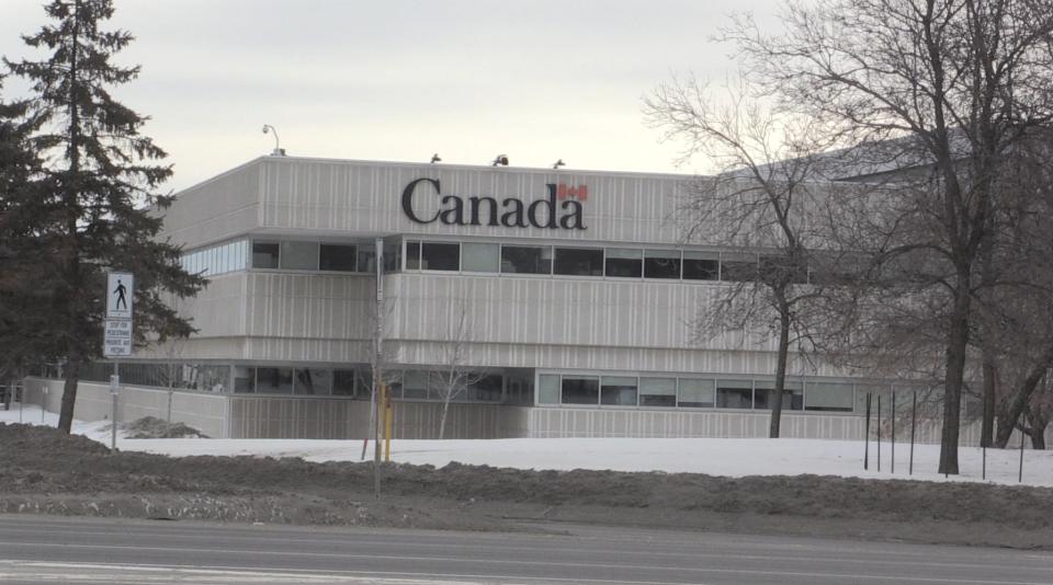 Canada Revenue Agency in Sudbury winter