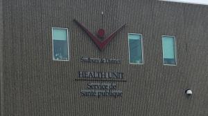 Public Health Sudbury and Districts building on Paris Street. Mar. 16/20 (Ian Campbell/CTV Northern Ontario)