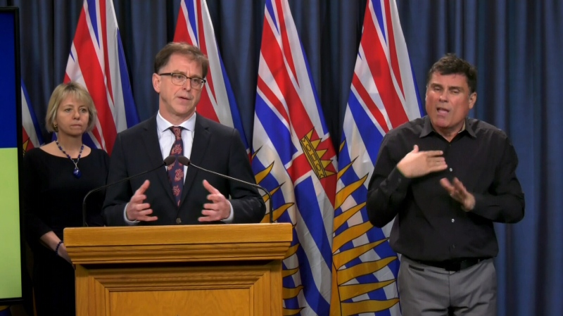 Health Minister Adrian Dix and provincial health officer Dr. Bonnie Henry are expected to give an update on the COVID-19 situation in B.C. live at 3 p.m.: (CTV News)