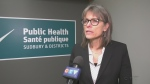 Sudbury Medical Officer of Health Dr. Penny Sutcliffe. Mar. 16/20 (Ian Campbell/CTV Northern Ontario)