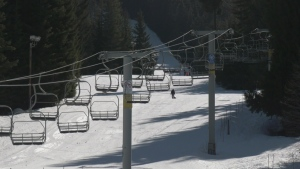 A chairlift at Whistler Blackcomb is seen in this file photo.