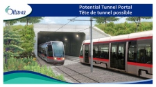 City officials plan to build a downtown tunnel and 13 kilometres of light rail tracks as part of a new transit plan for the City of Ottawa.