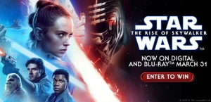 Star Wars: The Rise of Skywalker on Blu-Ray™ Banne
