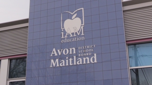 The offices of the Avon Maitland District School Board are seen in Seaforth, Ont. on Tuesday, March 17, 2020. (Scott MIller / CTV London)