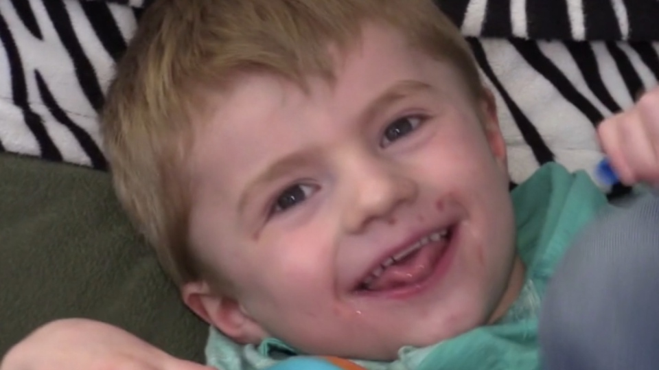 Carson Smith has Angelman's Syndrome and his family is worried that COVID-19 could be fatal for him.