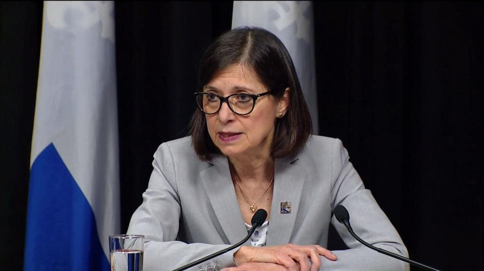 Health Minister Danielle McCann