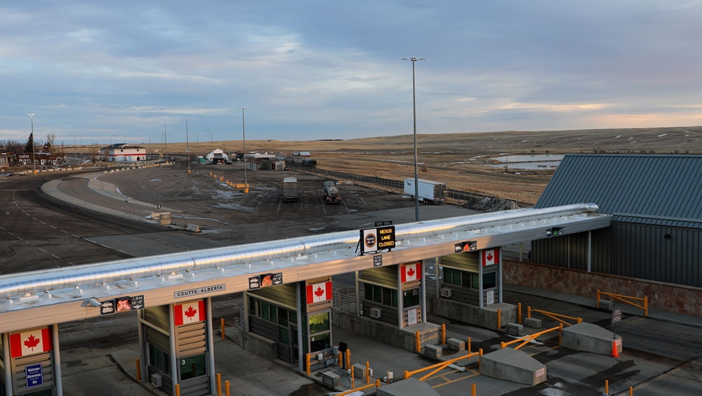 coutts, border crossing, covid-19, lethbridge, cal