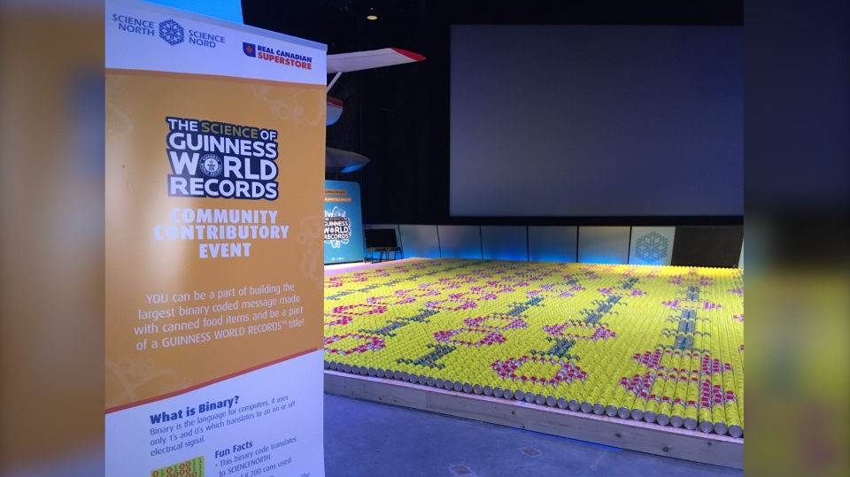 Science North and Superstore attempt world record