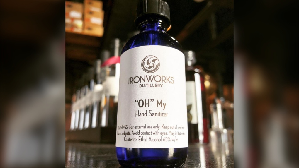Ironworks Sanitizer