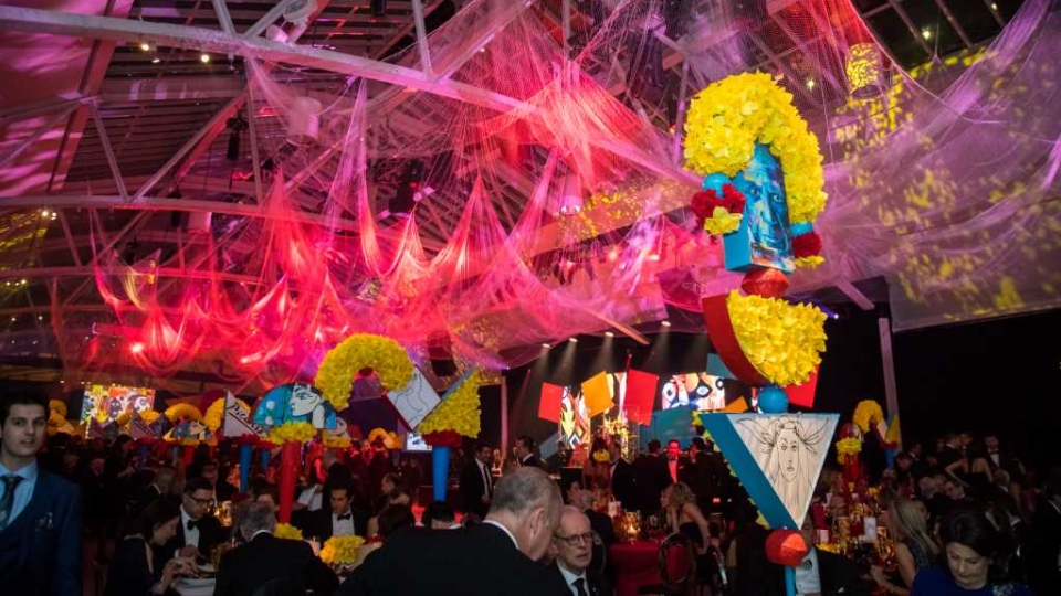 An image from the 2019 Daffodil Ball in Montreal. (Credit: Canadian Cancer Society.)