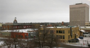 The City of Prince Albert is pictured March 18, 2020.
