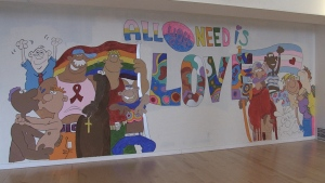 Outloud North Bay is a new safe space for LGBTQ youth. Mar. 18/20 (Eric Taschner/CTV Northern Ontario)