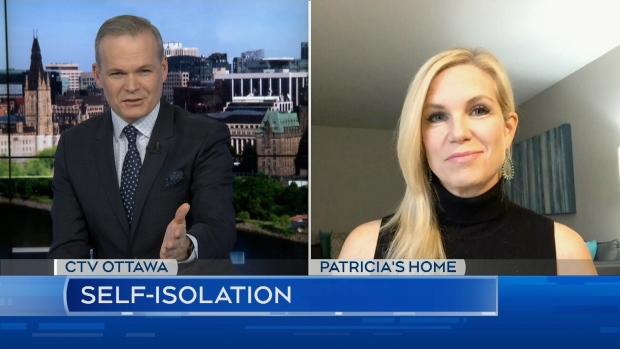 CTV News anchor self-isolating at home | CTV News