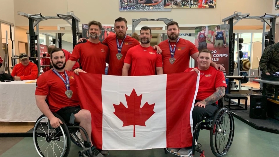 Greg Van Olm and Team Canada