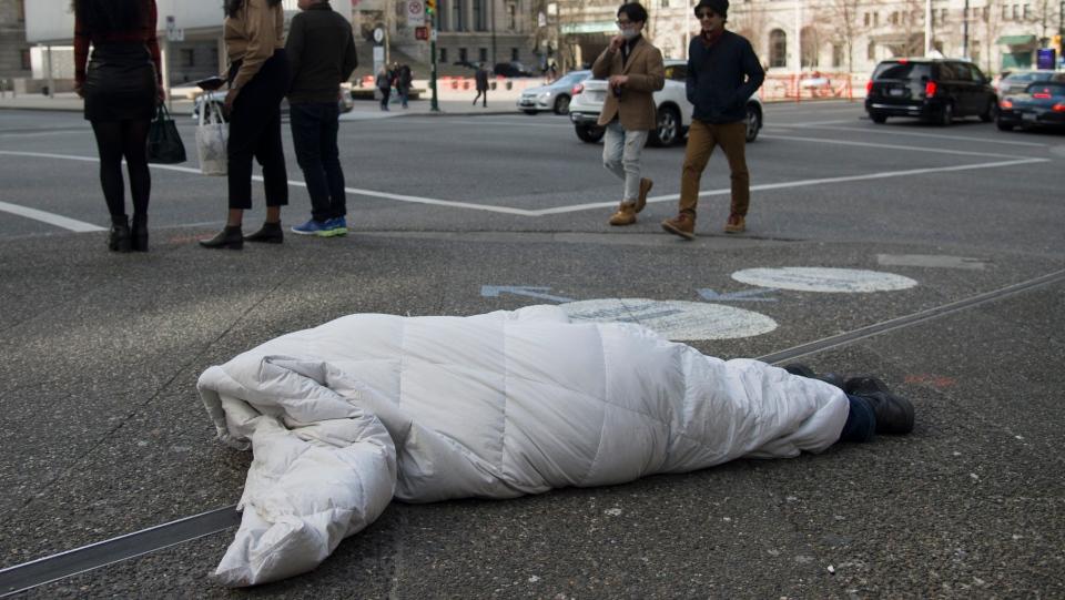 Homeless and coronavirus