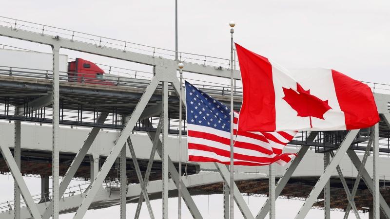 CTV National News: Canada-U.S. border closes
