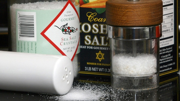 A new report says excess sodium in the Canadian diet likely kills more Canadians every year than any other chemical substance added to food. (Larry Crowe / THE CANADIAN PRESS)