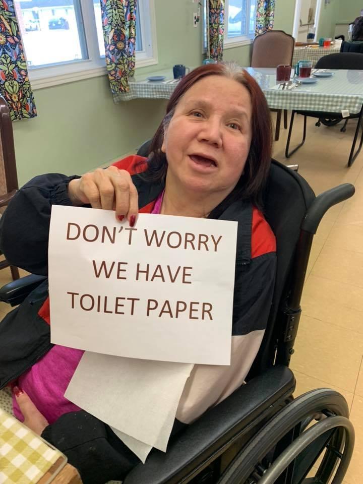Wikwemikong Nursing Home resident sign