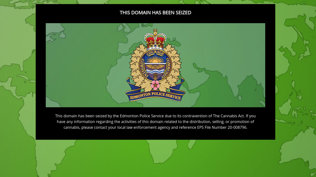 Cannabis domain seizure
