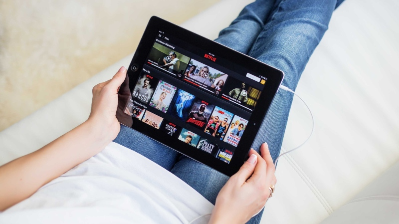 Netflix is seen on a tablet in this file photo. (Shutterstock)