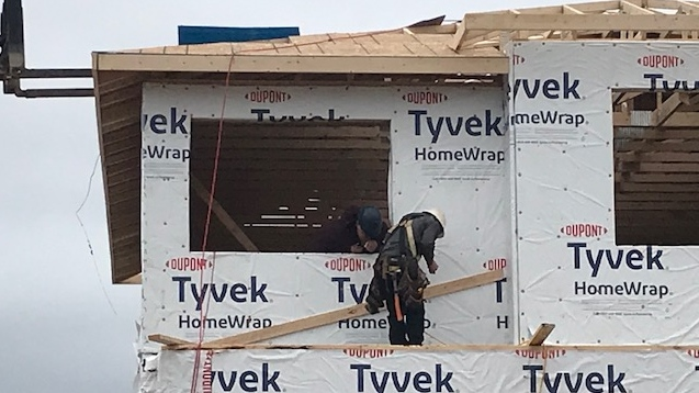 Construction in London, Ont.