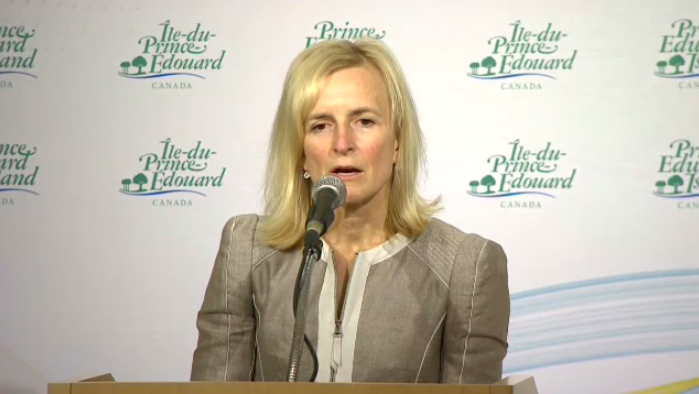 Dr. Heather Morrison, chief health officer for P.E.I., confirmed details of the Island's second case during a news conference Friday afternoon.