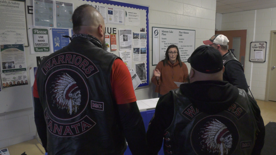 Biker club steps up to deliver meals to seniors