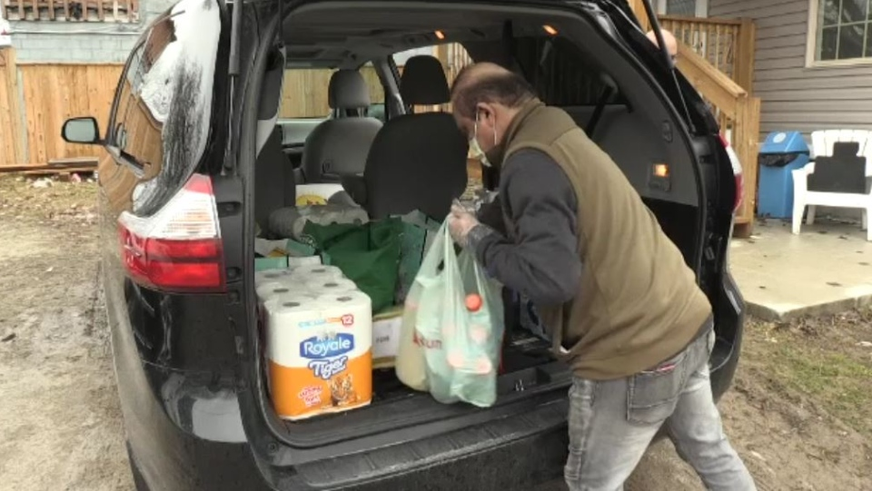 South Asian Association delivers groceries