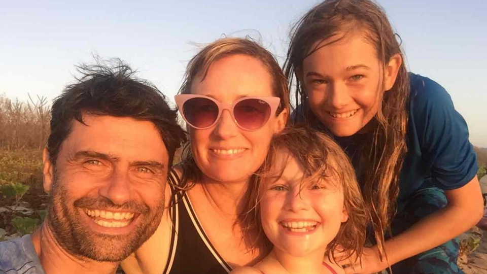 The Hocking-Groves family