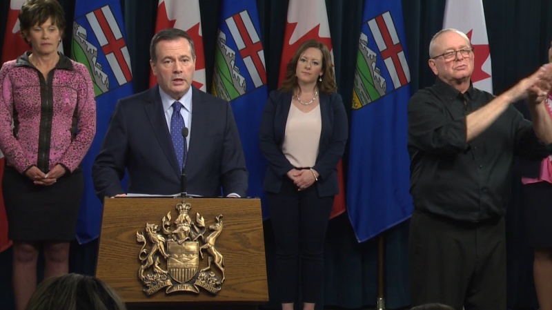 Premier Jason Kenney says unemployment in Alberta could reach 25 per cent. (File photo)