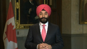 Industry Minister Navdeep Bains