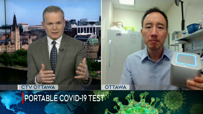 Ottawa company developing portable COVID-19 test