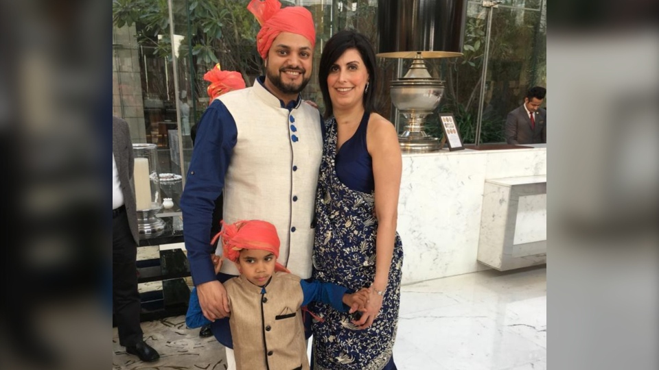 The Udwadia family has so far booked three different flights home - with Air France, KLM and Delta - and each time, the flights have been cancelled.