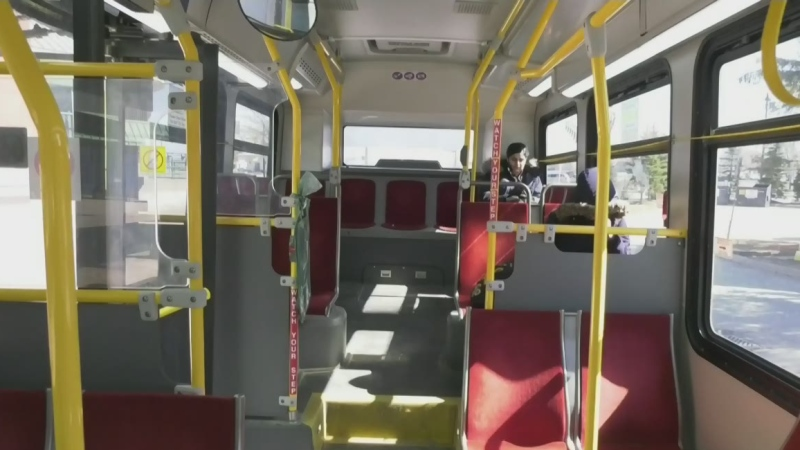 As workplace concerns emerge over COVID-19, some Barrie transit riders were left at bus stops after some drivers walked off the job.