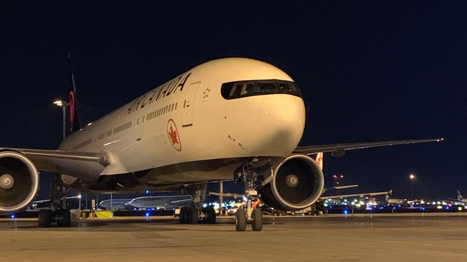 An Air Canada flight from Morocco returned to Montreal Saturday night with passengers aboard that had been stranded in the country during the COVID-19 pandemic. SOURCE Air Canada Twitter