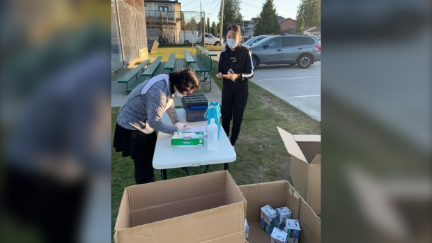 Port Coquitlam family fined for reselling marked-up masks at park