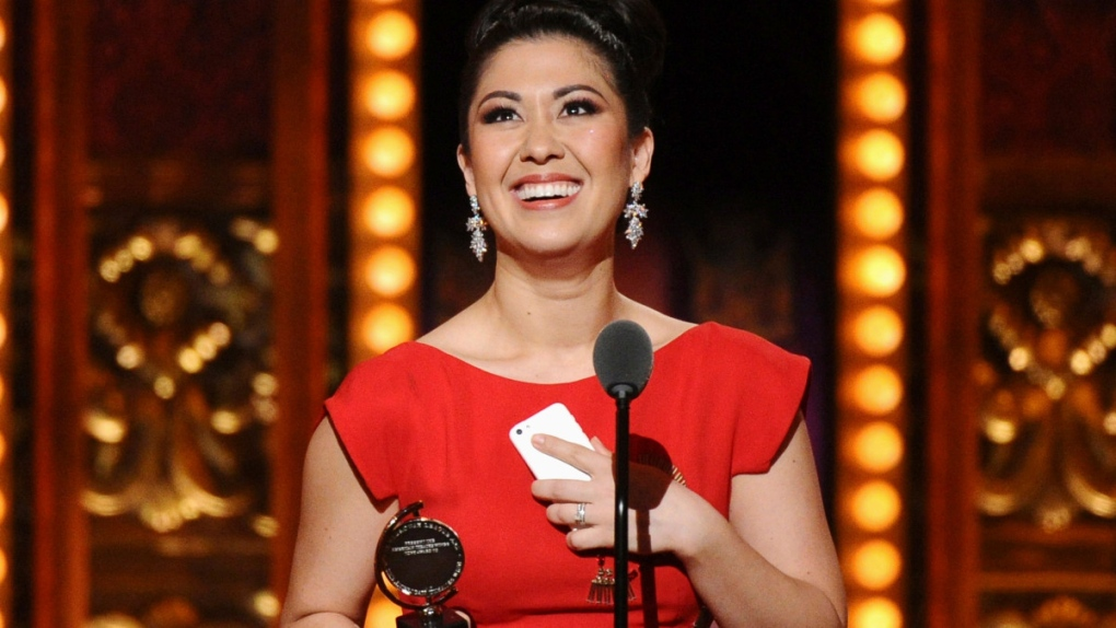 Ruthie Ann Miles at the Tony Awards in 2015