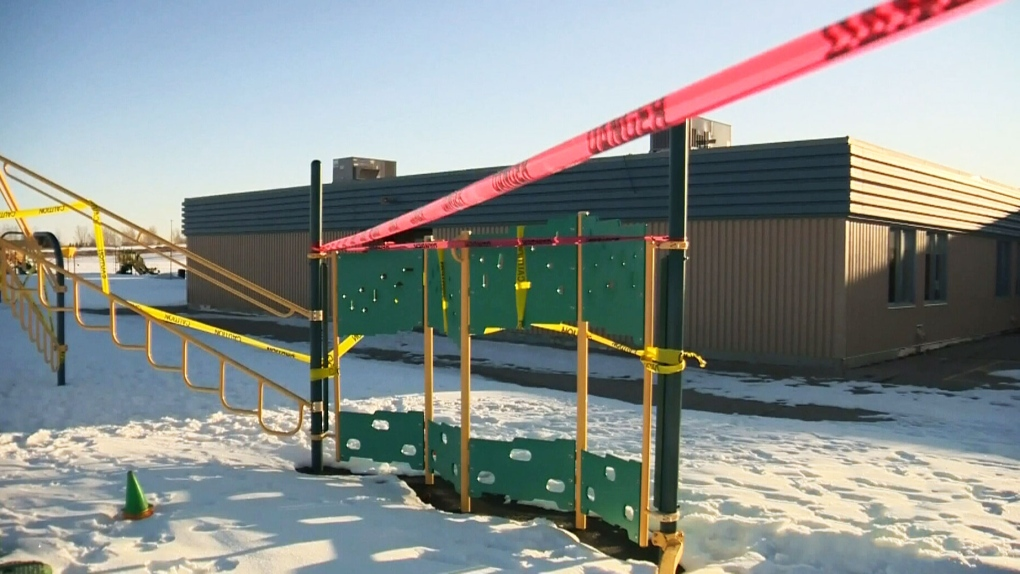 Playgrounds closed in Calgary