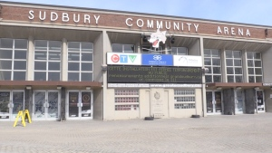 The roof at Sudbury Arena needs fixing, says a staff report headed to the finance committee Aug. 11. (File)