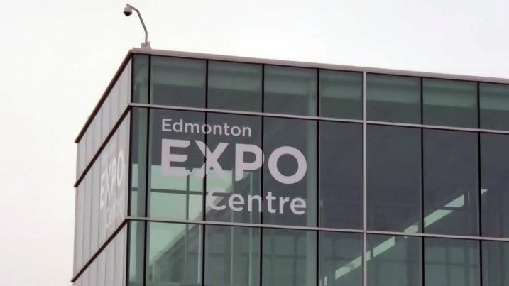 Expo centre opens to homeless